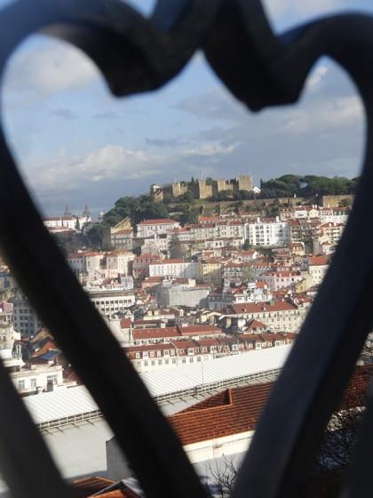 Castelo Sao Jorge, Lisboa (Portugal)