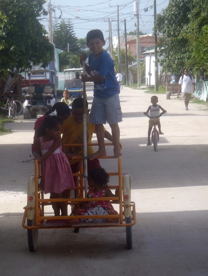 Caye Caulker children