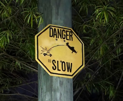 Caye Caulker - Go slow