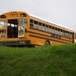"Chicken bus: Belize ""school bus"""