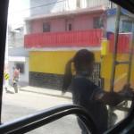 Chicken bus free rider