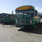 Chicken buses Belize