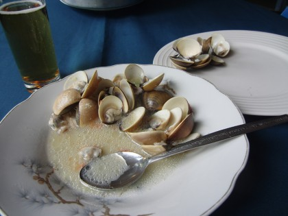 Clam soup (mussels)