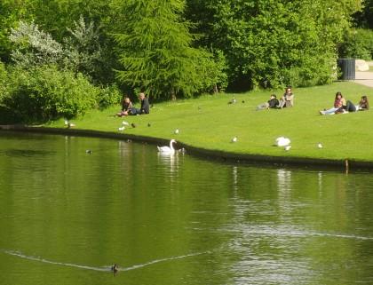 Copenhagen pictures: park