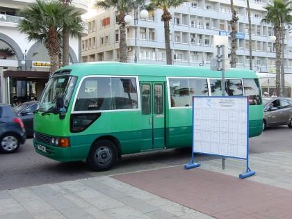 Cyprus bus
