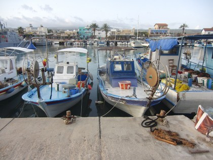 Cyprus fish boats