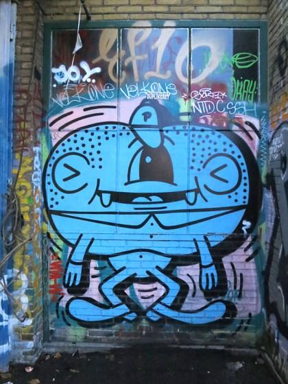 Street Art in Copenhagen, Denmark (17)
