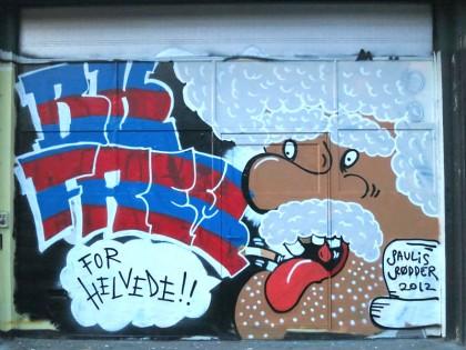 Street Art in Copenhagen, Denmark (18) Paulis Rødder