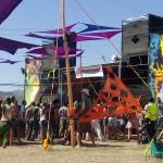 Disasterpeace festival dance floor