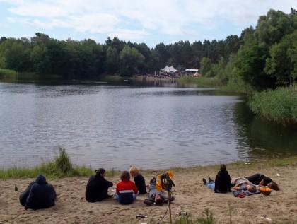 Festival lake
