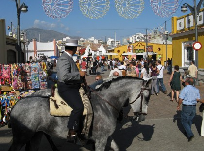 The feria area