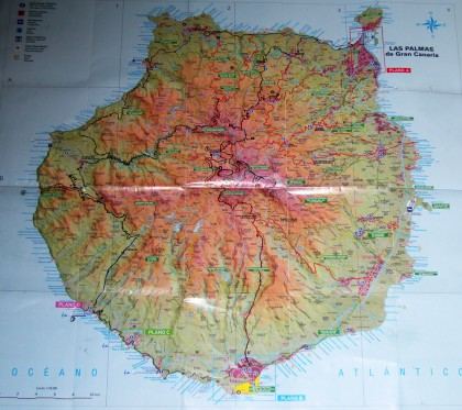Gran Canaria mapa