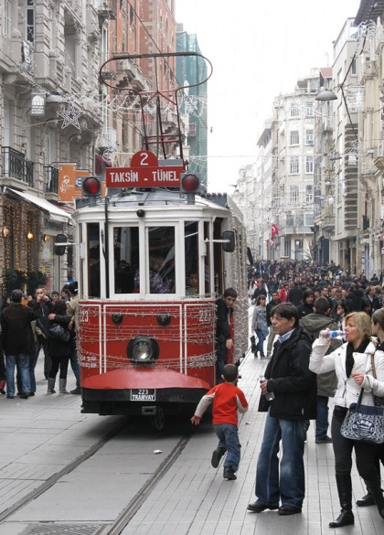 Istanbul - old tram