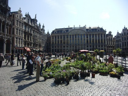 La Grand Place | Brussels plant market