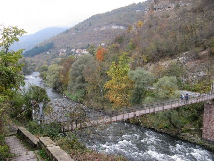 Lakatnik - crossing over the Iskar river