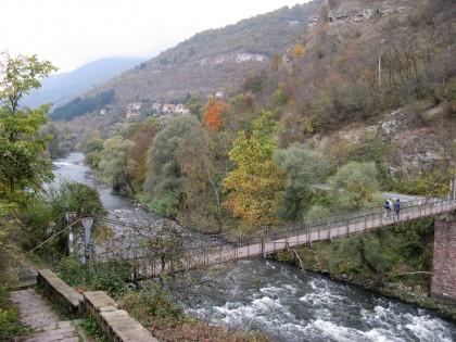 Lakatnik - crossing over the Iskar river
