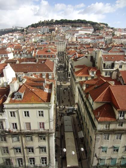 Lisbon street view, Portugal