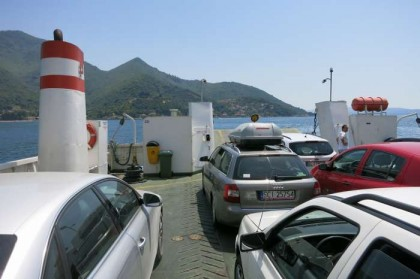 Montenegro ferry crossing