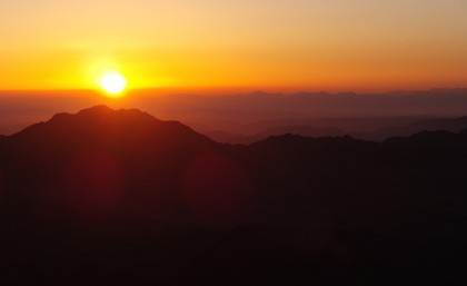 Mount Sinai sunrise