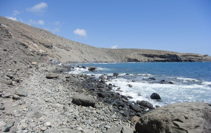 Nudist beach in Gran Canaria