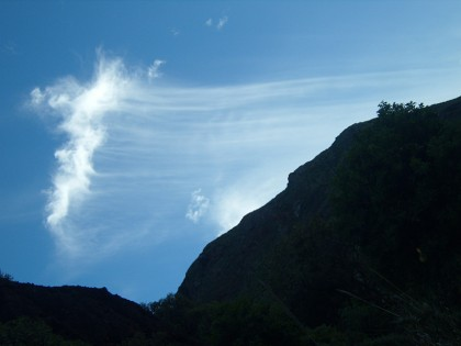 Picture of cloud in Tenerife
