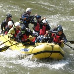 Raft in stream
