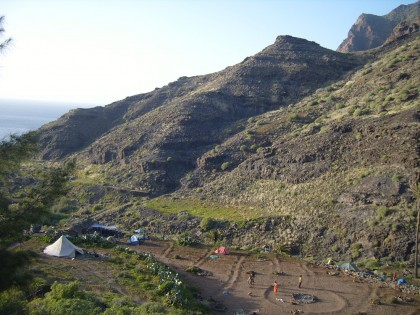 Rainbow gathering @ Guigui in Gran Canaria, Spain