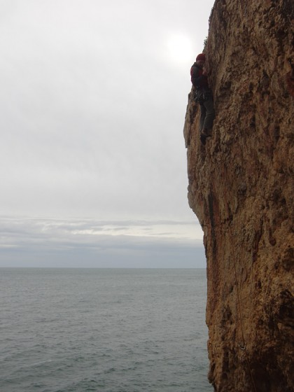 Rock climbing in Portugal - Cascais