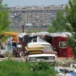 romani camp belgrade