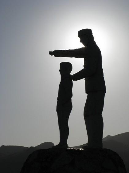 Statue found in Sierra de Las Nievas