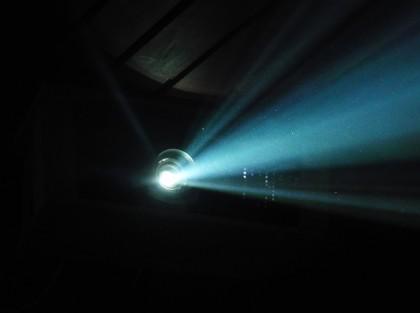Running projector