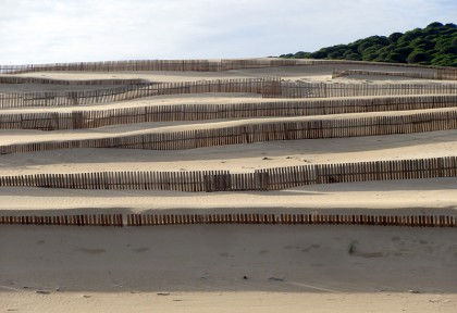Sand dunes with borders, Tarifa