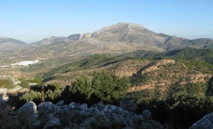 Sierra de Las Nievas - national park