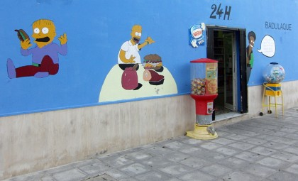 Simpsons grocery store (Tarifa, Spain)