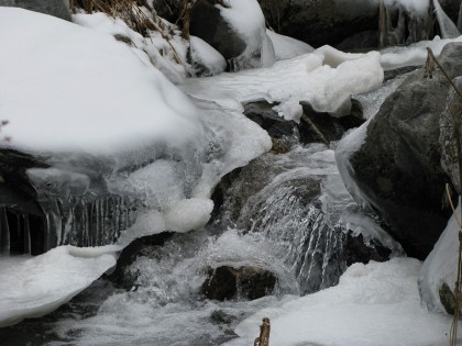 More river and ice