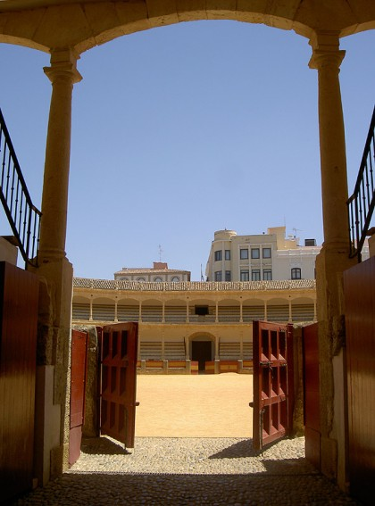 Ronda's bullfighting arena