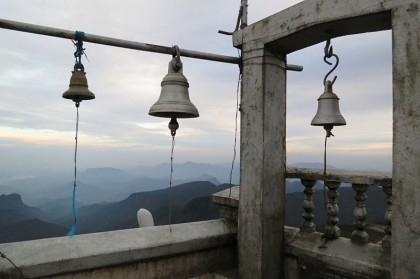 Sri Lanka travel - Adam's peak bells