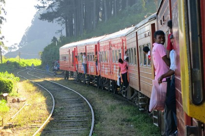 Sri Lanka travel - Train