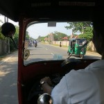 Sri Lanka travel story - Tuk-Tuk