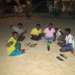 Sri Lanka travel story - Merissa tuk-tuk friends