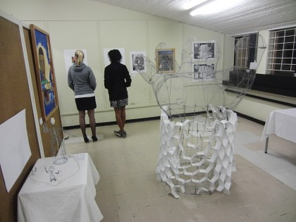 Swaziland art exhibition at the university
