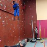 Swaziland - climbing at university