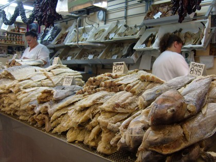 Tenerife fish market