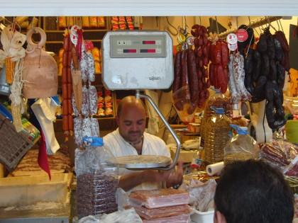 Tenerife meat market