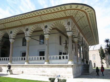 Beautiful building inside the Topkapı Palace