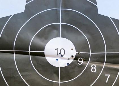 Ukraine shooting range: target