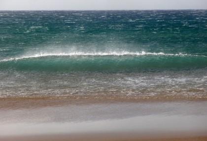 Wind on wave top, Tarifa
