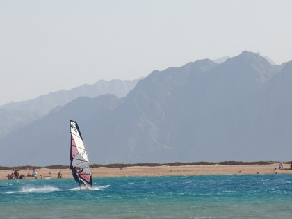 Windsurfing Dahab