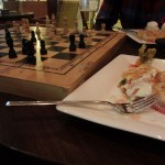 Ayia Napa desert and chess