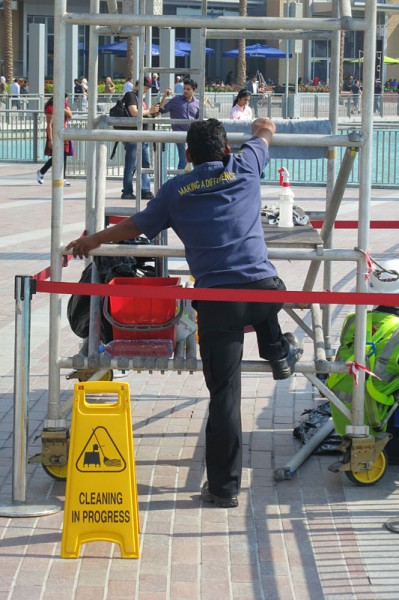 Dubai cleaner